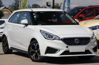 2020 MG MG3 SZP1 MY20 Excite Dover White 4 Speed Automatic Hatchback.
