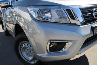 2019 Nissan Navara D23 S3 RX 4x2 Brilliant Silver 6 Speed Manual Cab Chassis.