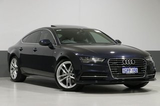 2017 Audi A7 4G MY16 2.0 Tfsi Quattro S Tronic LE Grey 7 Speed Auto S-Tronic Hatchback.