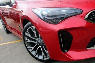 2021 Kia Stinger CK MY21 GT-Line Fastback Hichroma Red 8 Speed Sports Automatic Sedan.