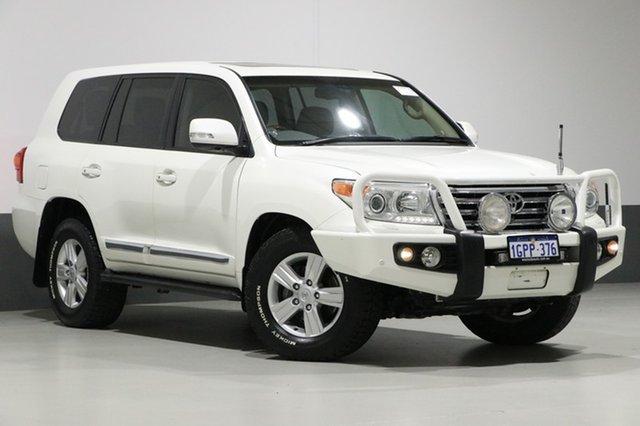 Used Toyota Landcruiser VDJ200R MY13 Sahara (4x4), 2014 Toyota Landcruiser VDJ200R MY13 Sahara (4x4) White 6 Speed Automatic Wagon