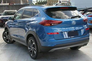 2019 Hyundai Tucson TL3 MY19 Highlander AWD Aqua Blue 8 Speed Sports Automatic Wagon.