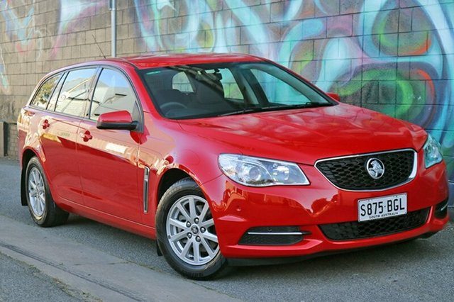 Used Holden Commodore VF MY15 Evoke Sportwagon, 2015 Holden Commodore VF MY15 Evoke Sportwagon Red 6 Speed Sports Automatic Wagon