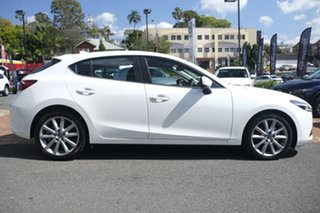 2018 Mazda 3 BN5438 SP25 SKYACTIV-Drive GT Snowflake White 6 Speed Sports Automatic Hatchback.