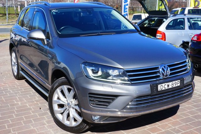 Used Volkswagen Touareg 7P MY16 V6 TDI Tiptronic 4MOTION, 2016 Volkswagen Touareg 7P MY16 V6 TDI Tiptronic 4MOTION Grey 8 Speed Sports Automatic Wagon