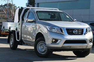 2019 Nissan Navara D23 S3 RX 4x2 Brilliant Silver 6 Speed Manual Cab Chassis.