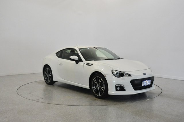 Used Subaru BRZ Z1 MY16 , 2015 Subaru BRZ Z1 MY16 White 6 Speed Sports Automatic Coupe