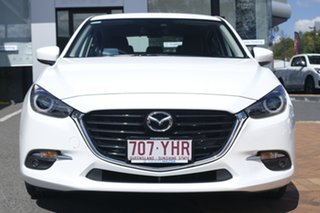 2018 Mazda 3 BN5438 SP25 SKYACTIV-Drive GT Snowflake White 6 Speed Sports Automatic Hatchback