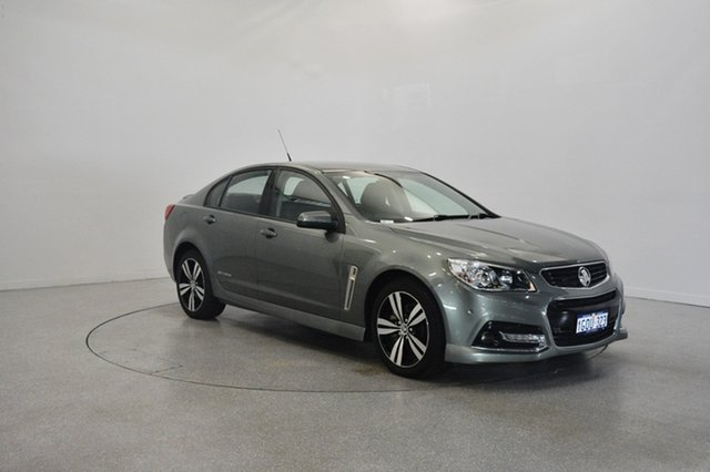 Used Holden Commodore VF MY15 SS Storm, 2015 Holden Commodore VF MY15 SS Storm Green 6 Speed Sports Automatic Sedan
