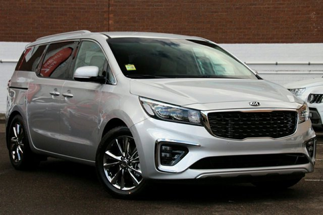 New Kia Carnival YP MY19 Platinum, 2018 Kia Carnival YP MY19 Platinum Silky Silver 8 Speed Sports Automatic Wagon