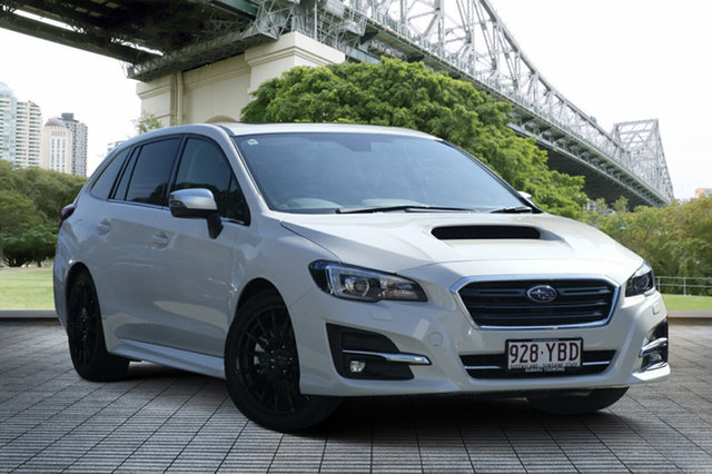 Demo Subaru Levorg V1 MY18 1.6 GT CVT AWD Premium, 2017 Subaru Levorg V1 MY18 1.6 GT CVT AWD Premium White Crystal 6 Speed Constant Variable Wagon