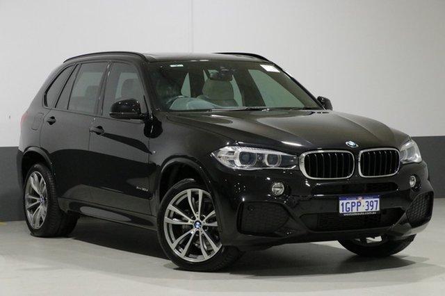 Used BMW X5 F15 MY16 xDrive 30D, 2016 BMW X5 F15 MY16 xDrive 30D Black 8 Speed Automatic Wagon