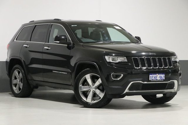 Used Jeep Grand Cherokee WK MY14 Limited (4x4), 2013 Jeep Grand Cherokee WK MY14 Limited (4x4) Black 8 Speed Automatic Wagon