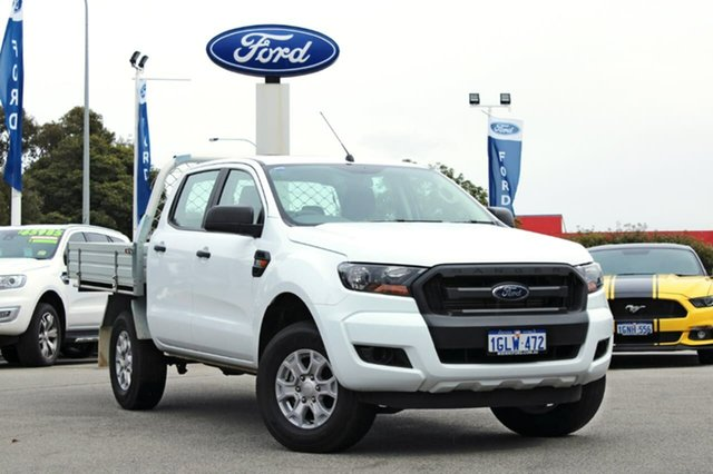 Demo Ford Ranger PX MkII XL Double Cab, 2017 Ford Ranger PX MkII XL Double Cab White 6 Speed Sports Automatic Cab Chassis