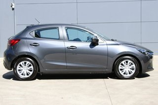 2018 Mazda 2 DJ2HA6 Neo SKYACTIV-MT Meteor Grey 6 Speed Manual Hatchback