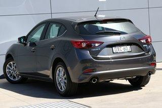 2018 Mazda 3 BN5478 Maxx SKYACTIV-Drive Sport Machine Grey 6 Speed Sports Automatic Hatchback.