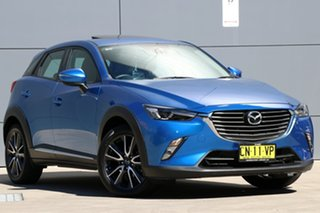 2017 Mazda CX-3 DK2W7A Akari SKYACTIV-Drive Blue 6 Speed Sports Automatic Wagon.