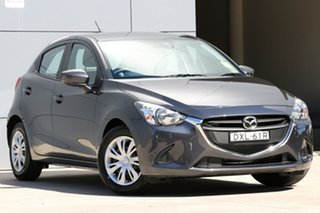 2018 Mazda 2 DJ2HA6 Neo SKYACTIV-MT Meteor Grey 6 Speed Manual Hatchback.