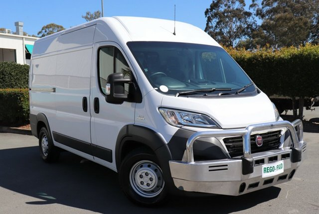 Used Fiat Ducato MY15 MWB/MID, 2014 Fiat Ducato MY15 MWB/MID White 6 Speed Manual Van
