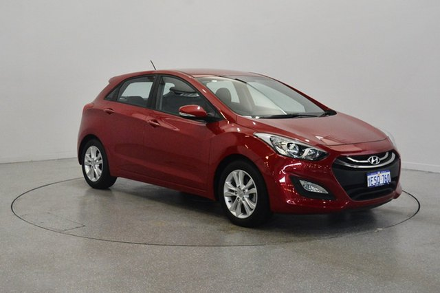 Used Hyundai i30 GD2 MY14 Trophy, 2014 Hyundai i30 GD2 MY14 Trophy Red 6 Speed Sports Automatic Hatchback
