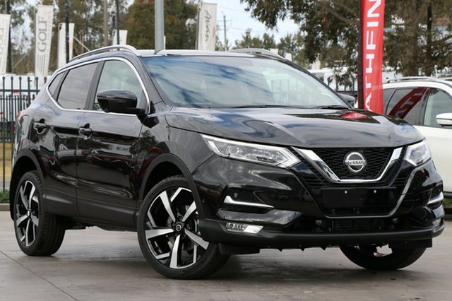 New Nissan Qashqai J11 Series 2 Ti X-tronic, 2019 Nissan Qashqai J11 Series 2 Ti X-tronic Pearl Black 1 Speed Constant Variable Wagon