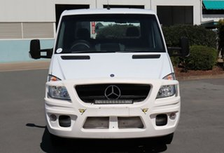 2011 Mercedes-Benz Sprinter NCV3 MY11 519CDI LWB White 5 Speed Automatic Cab Chassis.