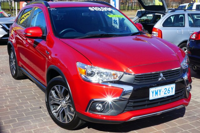 Used Mitsubishi ASX XC MY17 LS 2WD, 2017 Mitsubishi ASX XC MY17 LS 2WD Red 6 Speed Constant Variable Wagon