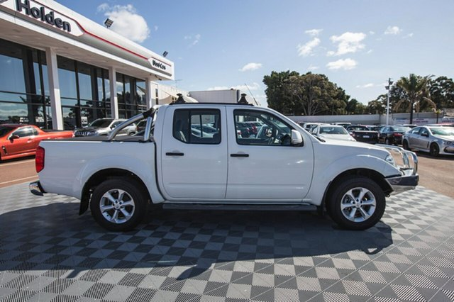 Used Nissan Navara D40 S6 MY12 ST, 2012 Nissan Navara D40 S6 MY12 ST White 5 Speed Sports Automatic Utility