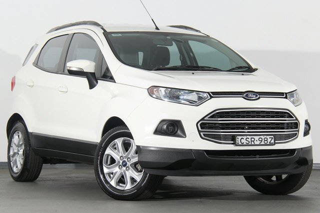 Used Ford Ecosport BK Trend PwrShift, 2014 Ford Ecosport BK Trend PwrShift Diamond White 6 Speed Sports Automatic Dual Clutch SUV