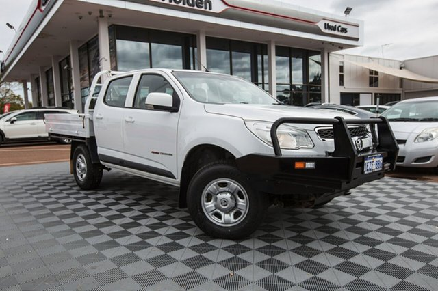 Used Holden Colorado RG MY16 LS Crew Cab, 2016 Holden Colorado RG MY16 LS Crew Cab White 6 Speed Sports Automatic Cab Chassis