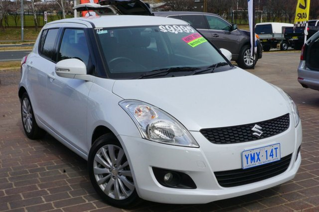 Used Suzuki Swift FZ GL, 2011 Suzuki Swift FZ GL White 5 Speed Manual Hatchback