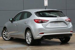 2018 Mazda 3 BN5438 SP25 SKYACTIV-Drive Sonic Silver 6 Speed Sports Automatic Hatchback.