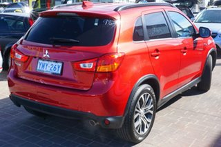 2017 Mitsubishi ASX XC MY17 LS 2WD Red 6 Speed Constant Variable Wagon