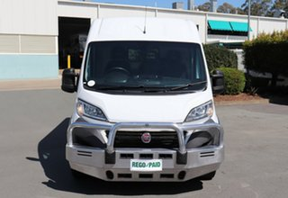 2014 Fiat Ducato MY15 MWB/MID White 6 Speed Manual Van.