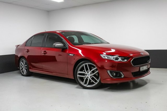 Used Ford Falcon FG X XR6 Turbo, 2015 Ford Falcon FG X XR6 Turbo Red 6 Speed Sports Automatic Sedan