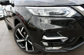 2019 Nissan Qashqai J11 Series 2 Ti X-tronic Pearl Black 1 Speed Constant Variable Wagon.