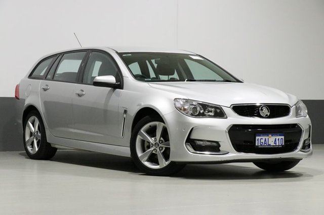 Used Holden Commodore VF II SV6, 2016 Holden Commodore VF II SV6 Silver 6 Speed Automatic Sportswagon