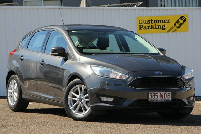 Used Ford Focus LZ Trend, 2015 Ford Focus LZ Trend Grey 6 Speed Automatic Hatchback