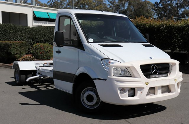 Used Mercedes-Benz Sprinter 906 MY10 519 CDI LWB, 2011 Mercedes-Benz Sprinter 906 MY10 519 CDI LWB White 5 Speed Automatic Cab Chassis