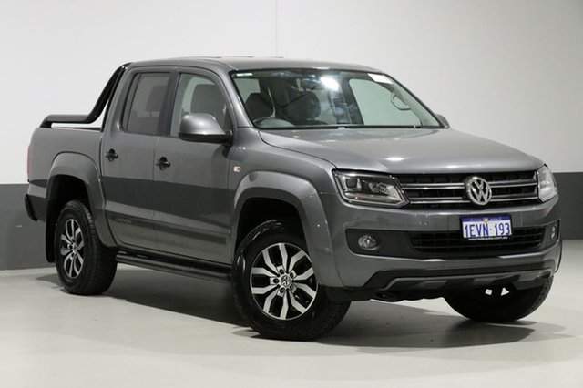 Used Volkswagen Amarok 2H MY14 TDI420 Canyon (4x4), 2015 Volkswagen Amarok 2H MY14 TDI420 Canyon (4x4) Grey Metallic 8 Speed Automatic Dual Cab Utility