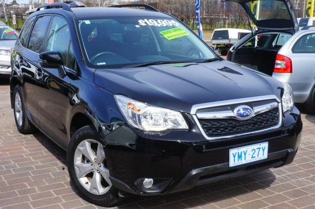 Used Subaru Forester S4 MY14 2.5i-L Lineartronic AWD, 2014 Subaru Forester S4 MY14 2.5i-L Lineartronic AWD Black 6 Speed Constant Variable Wagon