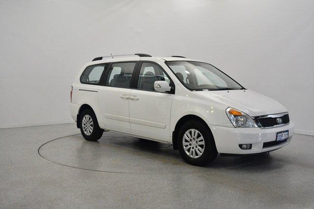 Used Kia Grand Carnival VQ MY11 SI, 2011 Kia Grand Carnival VQ MY11 SI Clear White 6 Speed Sports Automatic Wagon
