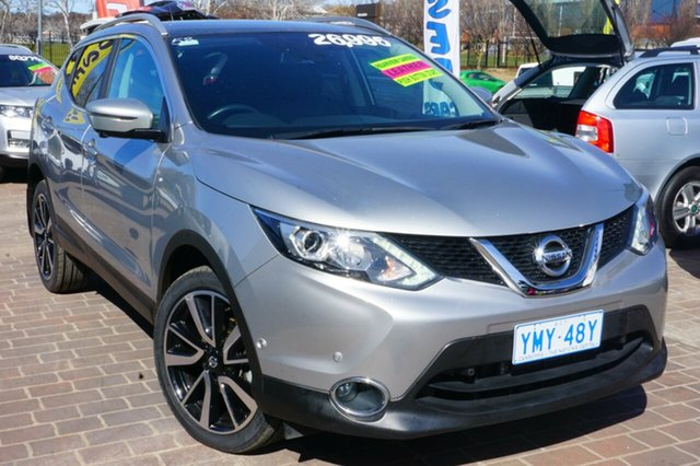 Used Nissan Qashqai J11 TI, 2016 Nissan Qashqai J11 TI Silver 1 Speed Constant Variable Wagon