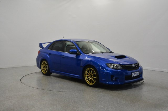 Used Subaru Impreza G3 MY14 WRX AWD RS40, 2013 Subaru Impreza G3 MY14 WRX AWD RS40 Blue 5 Speed Manual Sedan