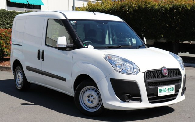 Used Fiat Doblo 263 Low Roof SWB, 2014 Fiat Doblo 263 Low Roof SWB White 6 Speed Manual Van