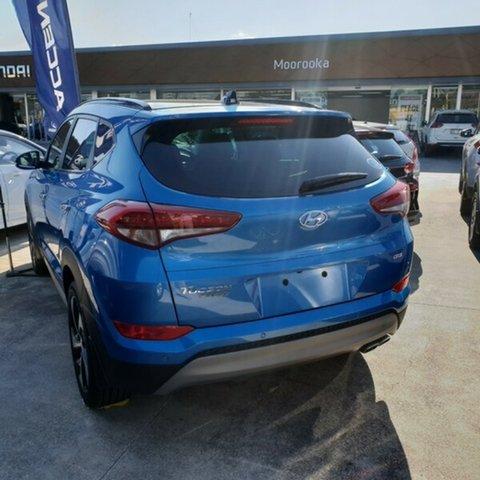 Demo Hyundai Tucson TLe MY17 Highlander AWD, 2017 Hyundai Tucson TLe MY17 Highlander AWD Ara Blue 6 Speed Sports Automatic Wagon