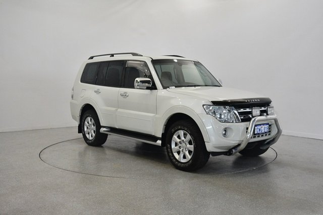 Used Mitsubishi Pajero NW MY12 Platinum, 2012 Mitsubishi Pajero NW MY12 Platinum White 5 Speed Sports Automatic Wagon