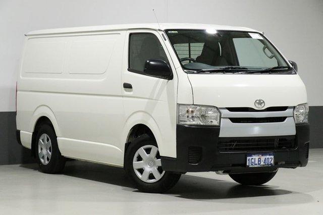 Used Toyota Hiace TRH201R MY16 LWB, 2016 Toyota Hiace TRH201R MY16 LWB White 6 Speed Automatic Van