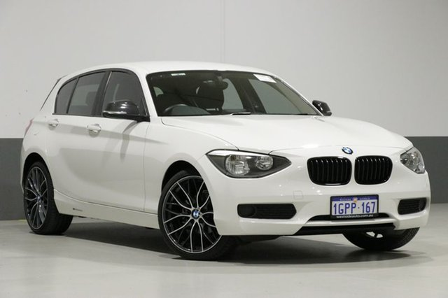 Used BMW 116i F20 MY13 , 2013 BMW 116i F20 MY13 White 8 Speed Automatic Hatchback