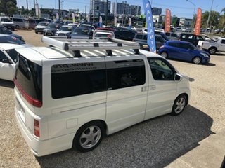 2007 Nissan Elgrand E51 Highway Star White 5 Speed Automatic Wagon